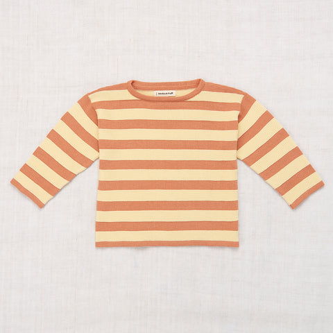 Cotton Boardwalk Mariner Top - Clay - 2-8y