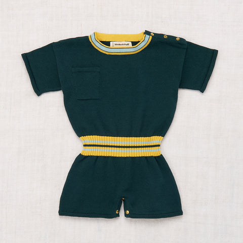 Cotton Field Day Playsuit - Spruce - 18m-8y