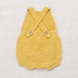Hand-knit Cotton Starfish Sunsuit - Sunshine - 0-5y