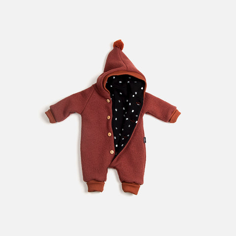 Wool Suit - Copper - 6m-2y