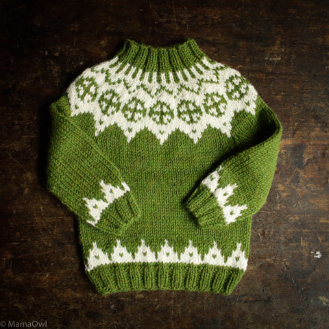 Palle Wool/Alpaca Sweater - Forest