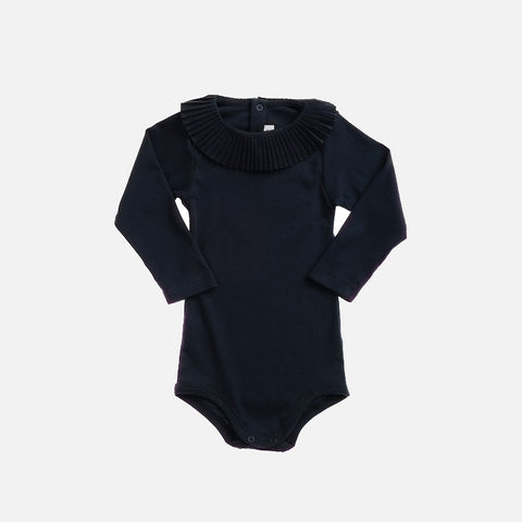 Pima Cotton Paloma Body - Midnight - 6-12m