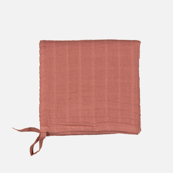 Cotton Little Swaddle - Terracotta