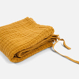 Cotton Little Swaddle - Mustard - 70x70cm