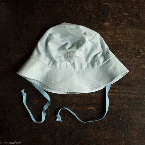 Organic Cotton Bucket Hat - Cloud Stripes