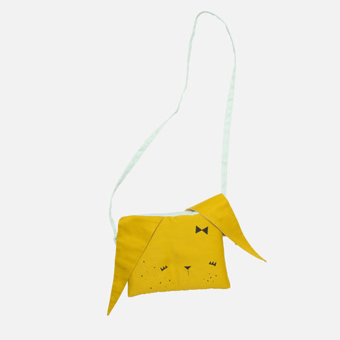 Organic Bunny Purse - Honey