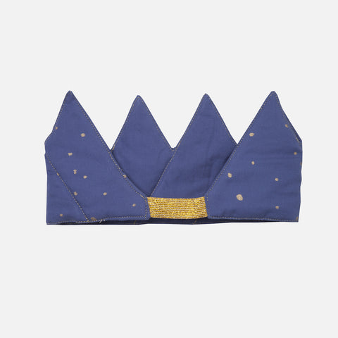 Organic Cotton Crown - Nightfall Blue
