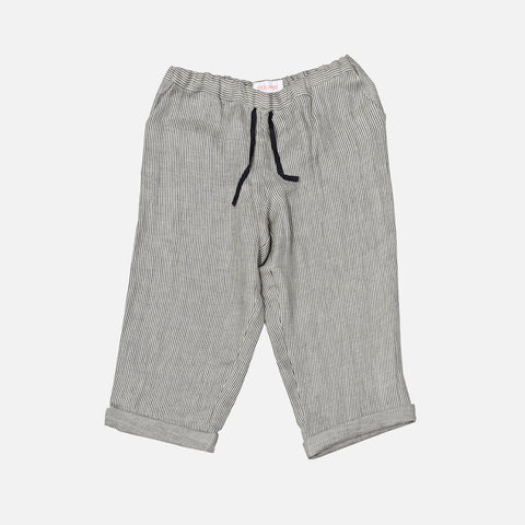 Linen New York Pants - Vintage Stripe  - 2-10y
