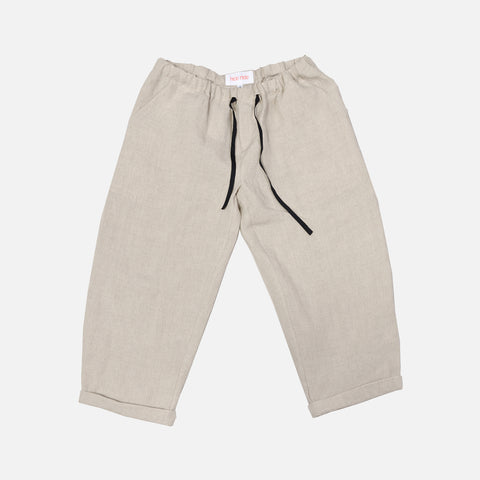 Linen New York Pants - Sand  - 10y