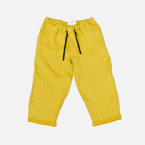 Linen New York Pants - Sun - 2-10y