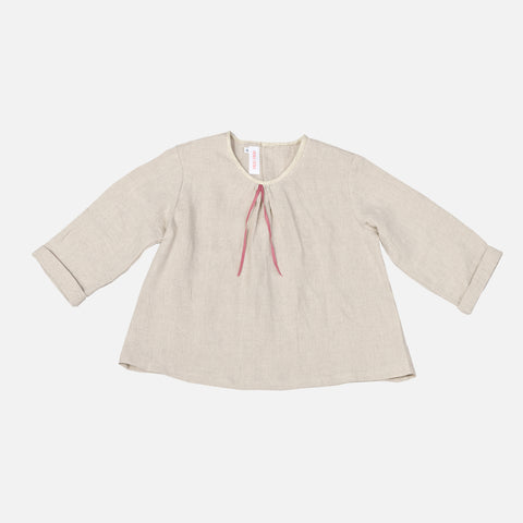 Linen LS June Shirt - Sand - 248y