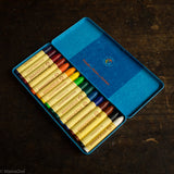Wax Stick Crayons in Tin - 16 Crayons
