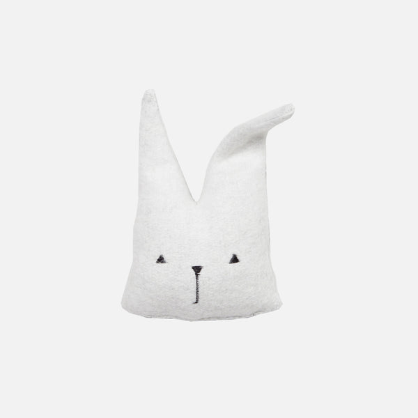 Organic Cotton Travel Bunny Rattle