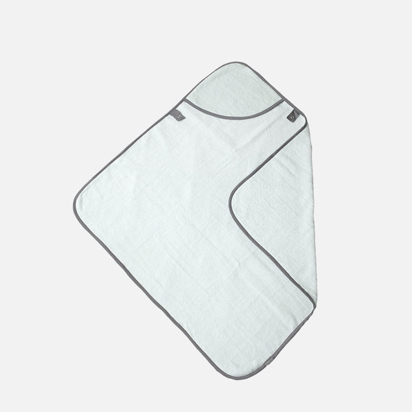 Organic Cotton Hooded Baby Towel - Jade