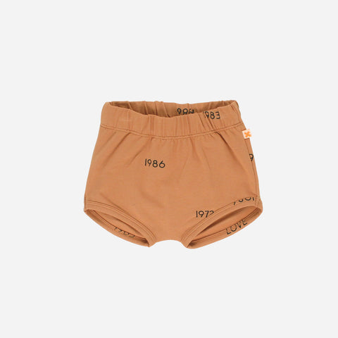 Pima Cotton Years Bloomers - Dark Peach - 3-18m
