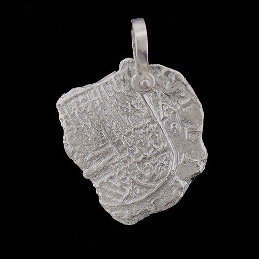 Atocha Jewelry - Pieces of 8 Silver Coin Pendant Front
