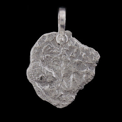 Atocha Jewelry - Pieces of 8 Silver Coin Pendant Back