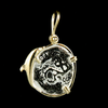 Atocha Jewelry - Small Silver Coin Dolphin Pendant Back