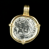 Atocha Jewelry - Small Roman Silver Coin Pendant Back