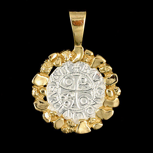 Atocha Jewelry - Small Pieces of 8 Silver Coin Pendant Front