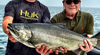 Great Lakes Salmon Fishing with Huk
