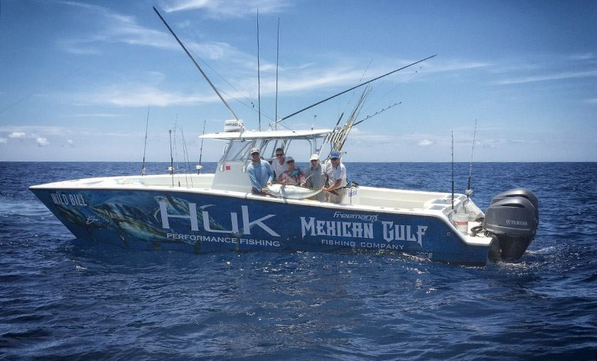Huk and the mexican gulf fishing company huk gear for Mexican gulf fishing company