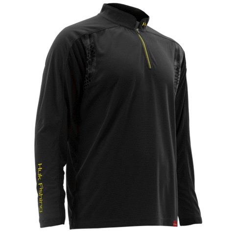 Huk Trophy Zip Fishing Shirt