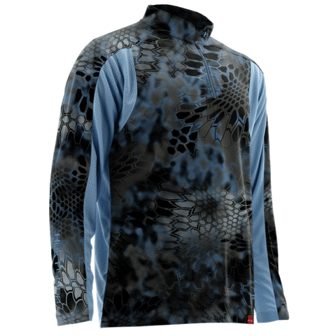 Huk Trophy Kryptek Zip Fishing Shirt