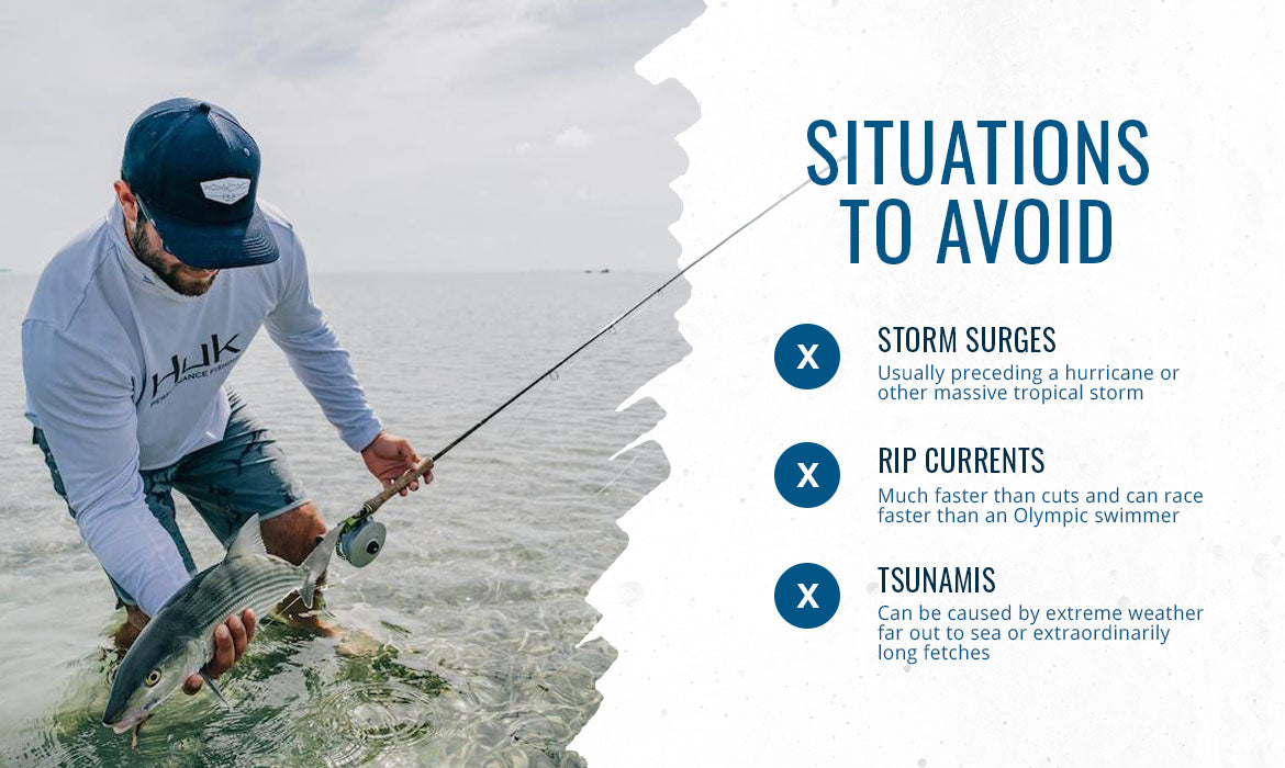 Situations to Avoid graphic