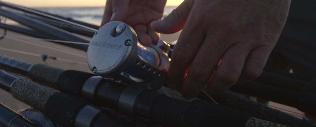 surf fishing rod and reel