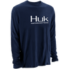 Huk Logo Long Sleeve
