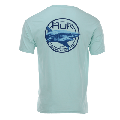 Huk Mako Badge Short Sleeve