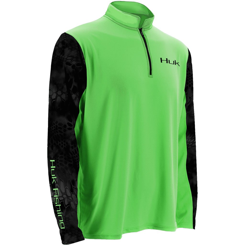 Huk Kryptek Sleeve ICON 1/4 Zip