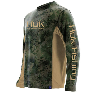 Huk ICON X Subphantis Camo Long Sleeve Shirt
