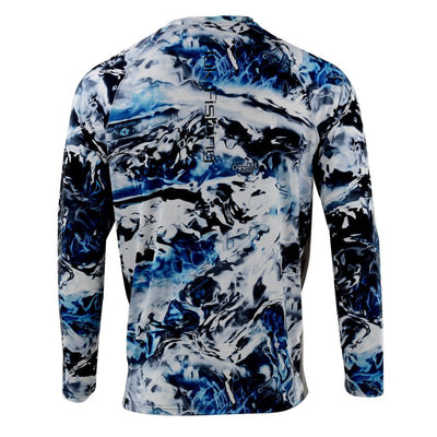 Huk Pursuit Camo Vented Long Sleeve