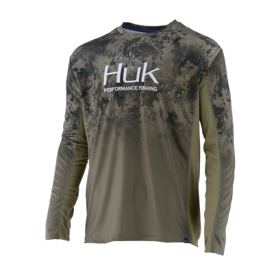 HUK ICON X SUBPHANTIS CAMO FADE LONG SLEEVE