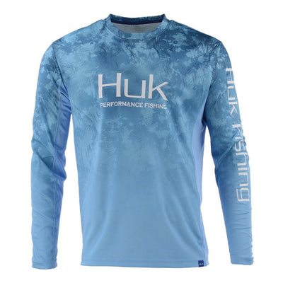 HUK SUBPHANTIS FADE ICON X LONG SLEEVE