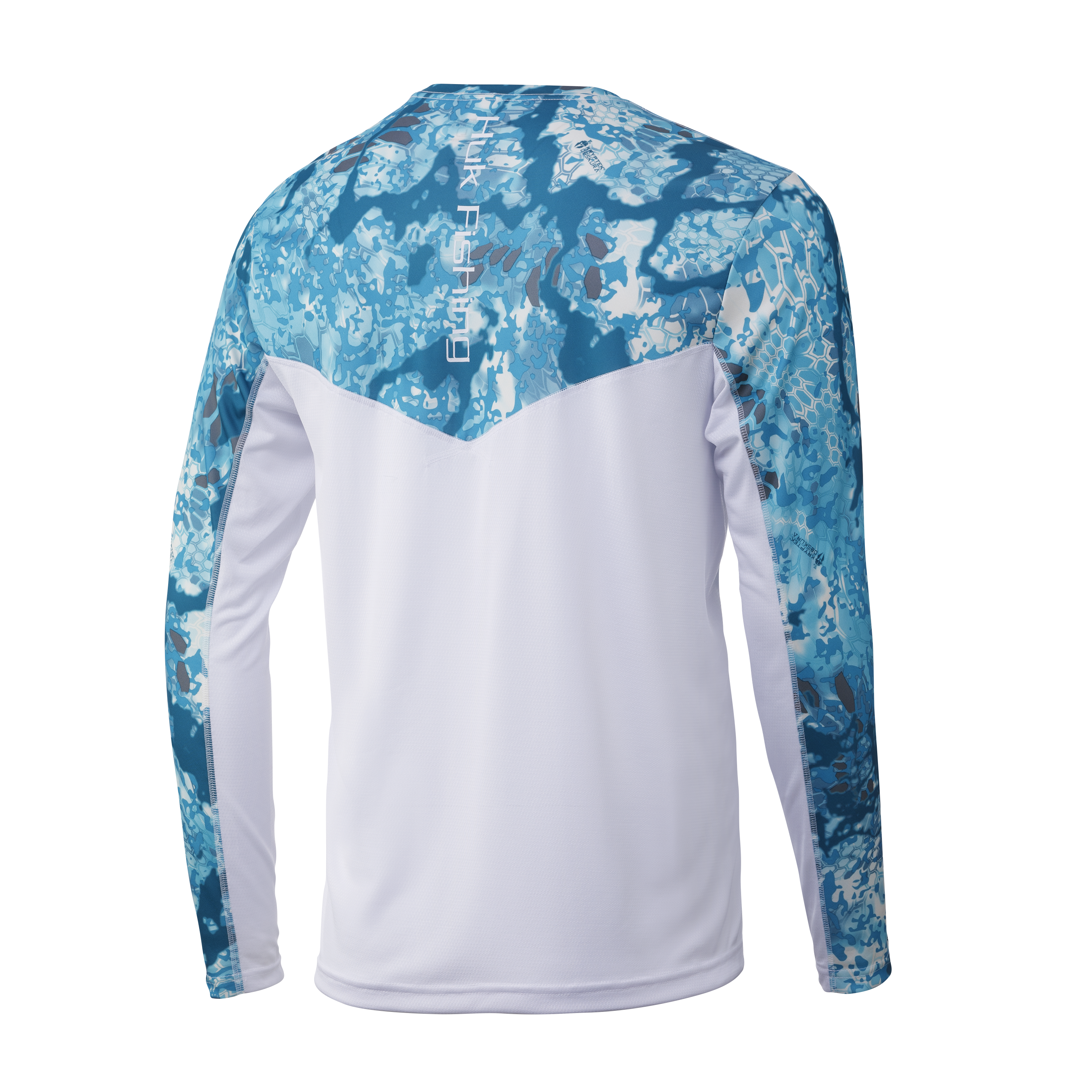 HUK Mens Kryptek Icon X Long Sleeve Long Sleeve Performance Fishing Shirt with 30 UPF Sun Protection /& Reflective Coating