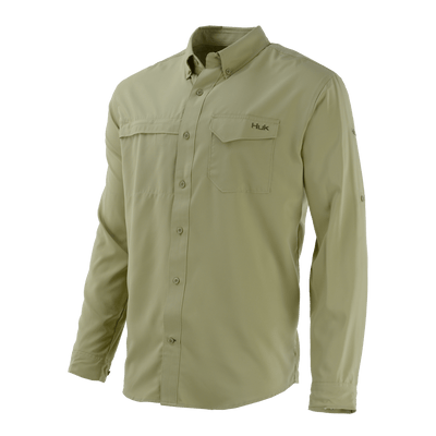 Huk Tide Point Long Sleeve Shirt