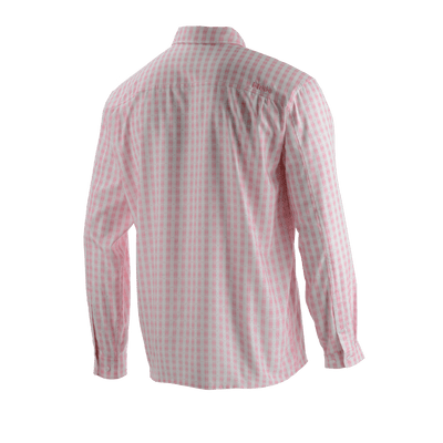 Huk Tide Point Plaid Long Sleeve Shirt
