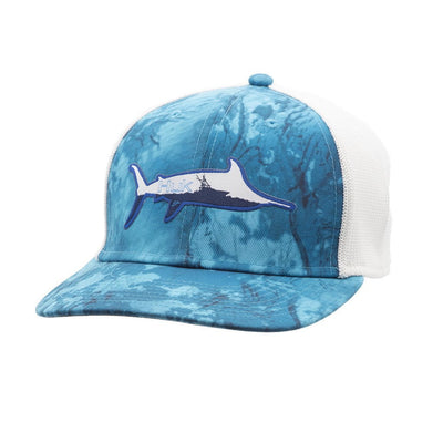 Huk Marlin Sporty Trucker Stretch