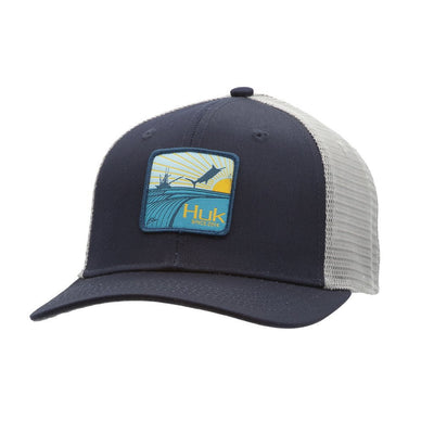 Huk Barrels Patch Trucker
