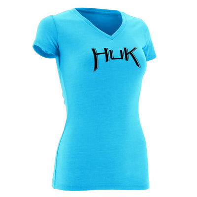 Huk Ladies Arched Logo Tee
