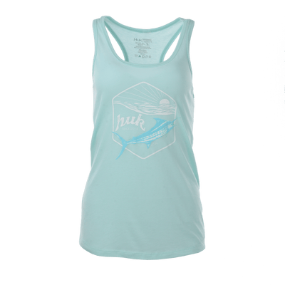 Huk Ladies Sunrise Racer Tank