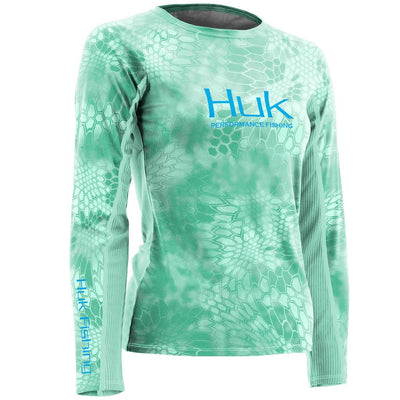 Huk Ladies Kryptek ICON Long Sleeve