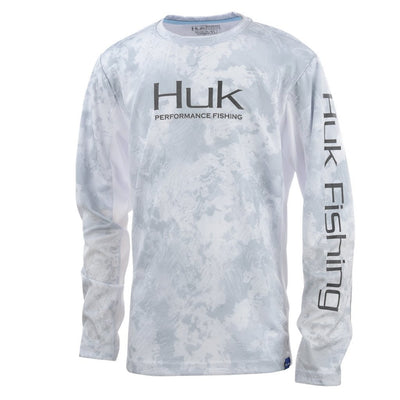Huk Youth ICON X Camo Long Sleeve Shirt