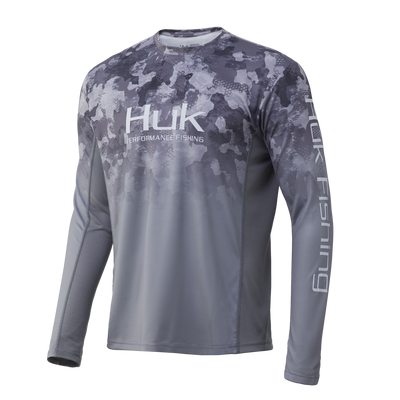 Huk Icon X Refraction Fade Shirt