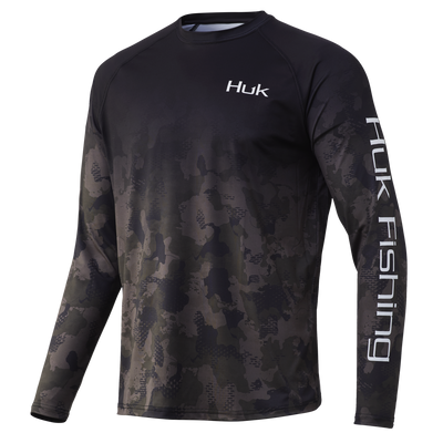 Huk Refraction Fish Fade Shirt