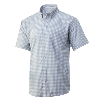 Huk Teaser Gingham Short Sleeve