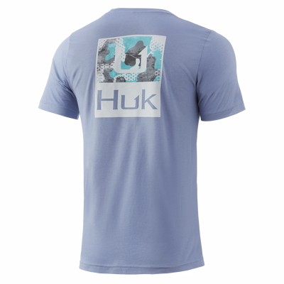 Huk'd Up Refraction Camo Tee